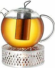Creano Teekanne aus Glas 1,5l Jumbo + EIN