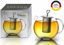 Creano Teekanne Jumbo aus Glas, 3-teilige