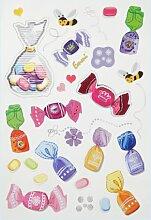 Creapop Sticker * Bonbons * Aufkleber 3451331