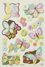 Creapop Sticker * Schmetterling II * Aufkleber