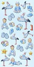Creapop Sticker Softysticker * Baby Boy I * Geburt