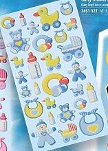 Creapop Sticker Softysticker * Baby Boy - Taufe -