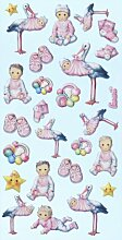 Creapop Sticker Softysticker * Baby Girl I *