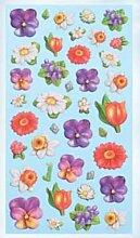 Creapop Sticker Softysticker * Blüten - Blumen -