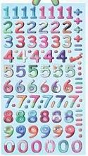 Creapop Sticker Softysticker * Design Zahlen -