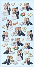 Creapop Sticker Softysticker * Hochzeitspaare