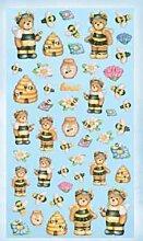Creapop Sticker Softysticker * Lustige Bienen -