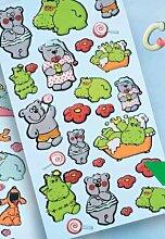 Creapop Sticker Softysticker * Nili + Teddy /