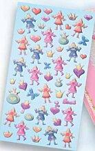 Creapop Sticker Softysticker * Prinzessin *