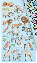 Creapop Sticker Softysticker * Zootiere Zoo Tiere