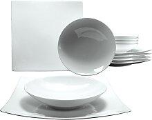 CreaTable Tafelservice Elegance, (12 tlg.),