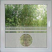 Create&Wall - Fenstertattoo Asia Ornamen