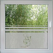 Create&Wall - Fenstertattoo Cook
