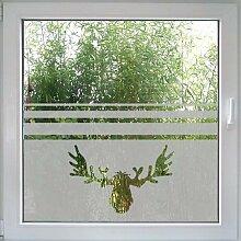 Create&Wall - Fenstertattoo Elch