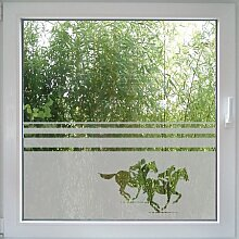 Create&Wall - Fenstertattoo Horse