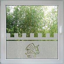 Create&Wall - Fenstertattoo Little Knigh