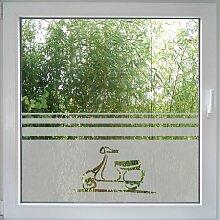 Create&Wall - Fenstertattoo Scooter