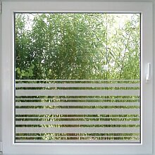 Create&Wall - Fenstertattoo Stripes