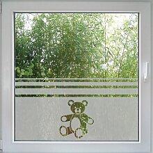 Create&Wall - Fenstertattoo Teddy Bear