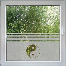 Create&Wall - Fenstertattoo Ying Yang