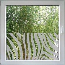 Create&Wall - Fenstertattoo Zebra