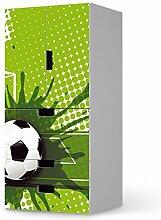 creatisto Deko Kindermöbel für IKEA Stuva Kommode kombiniert - 3 Schubladen und 2 kleine Türen   Möbeltattoo umgestalten   Dekorationsideen IKEA Möbelfolie Kinder-Zimmer Home Deko   Kids Kinder Goal