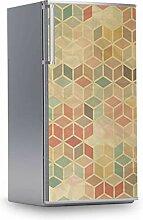 creatisto Kühlschrank Aufkleber I Dekofolie für
