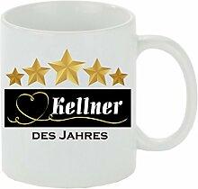 Creativ Deluxe Kaffeebecher 5 Sterne - Kellner des