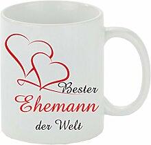 Creativ Deluxe Kaffeebecher Bester Ehemann der