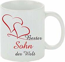 Creativ Deluxe Kaffeebecher Bester Sohn der Welt