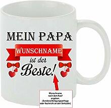 Creativ Deluxe Kaffeebecher Mein Papa Wunschname