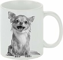 Creativ Deluxe Kaffeebecher Motiv Chihuahua