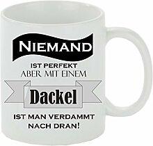 Creativ Deluxe Kaffeebecher Niemand ist perfekt -