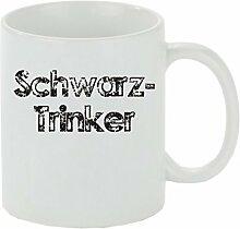 Creativ Deluxe Kaffeebecher Schwarztrinker