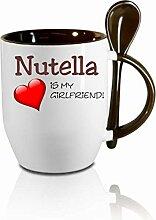 Creativ Deluxe Tasse m. Löffel Nutella is My