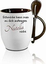 Creativ Deluxe Tasse m. Löffel Schminke kann Man