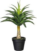 Creativ green Künstliche Zimmerpflanze Aloe mit
