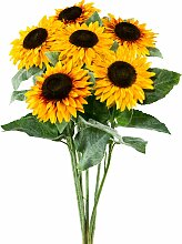 Creativ green Kunstblume Sonnenblume (Set, 6