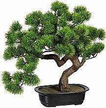 Creativ green Kunstpflanze Bonsai Kiefer, ca. 40 x