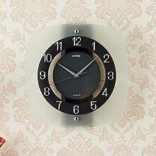 Creative Brief über Uhr moderne Wanduhr jumper Sekunden Motor office Zeichnung glass wall Clock Clock