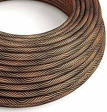 creative cables Rundes, Vertigo-Textilkabel mit HD