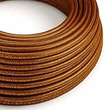 creative cables Textilkabel geflochten, Kupfer