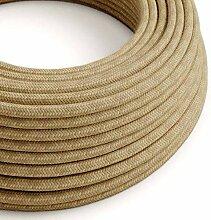 creative cables Textilkabel rund, überzogen mit