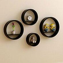 Creative Circular Wandregal Wohnzimmer Runde