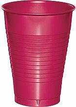 Creative Converting Kunststoffbecher, 340 ml, Hot