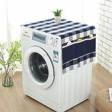Creative cotton and leinen tischtuch esszimmer wohnzimmer kühlschrank möbel staub-Beweisdeckel-B 55x135cm(22x53inch)