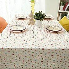 Creative Cotton Tischtuch Rechteckig Oder Runder Tisch Deckt Möbel Cover Tuch-A 140x140cm(55x55inch)