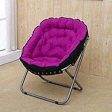 Creative Doppelte Paare Folding Sofa Stuhl Einzelnes Doppelzimmer Moon Stuhl Stühle Disc Stühle Freizeitstühle Outdoor Stühle Lazy Sofa