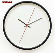 Creative Einfachheit Quartz Wall Clock Wohnzimmer Zimmer Mauer Dekoration Uhr