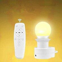 Creative Fernbedienung LED Nachtlicht Plug in
